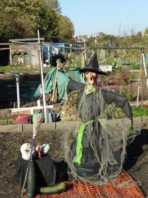 Northfields Allotments Halloween